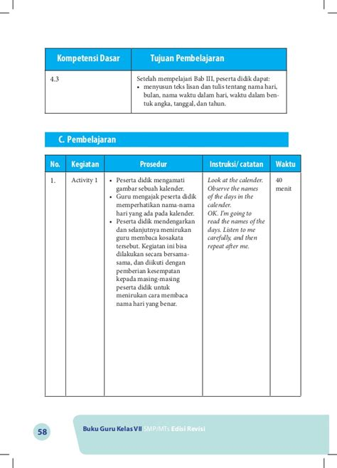cara membuat rak buku dalam bahasa inggris kurikulum 2013 buku guru 7 bahasa inggris