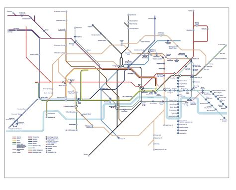 disabled access tube map independent living
