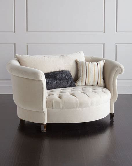 cuddle couch furniture haute house harlow ivory cuddle chair