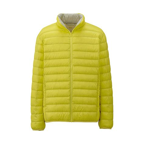 Uniqlo Burgundy Premium Jacket uniqlo premium ultra light jacket in yellow for lyst
