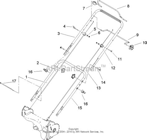 Toro Recycler 20016 Parts Diagram toro 20016 22in recycler lawnmower 2005 sn 250000001