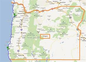Oregon Map Google by Map Of Just Oregon Submited Images