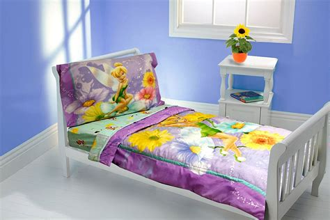 tinkerbell toddler bed set tinkerbell bedding oh so girly