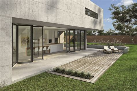 folding window walls nanawall systems launches structurally glazed sl82 winner