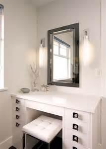 makeup vanity in bathroom makeup vanity tocadores