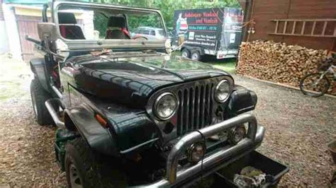 Jeep Cj7 Lackieren by Jeep Cj7 Mit Kompl Gfk Karosserie Turbodiesel Die