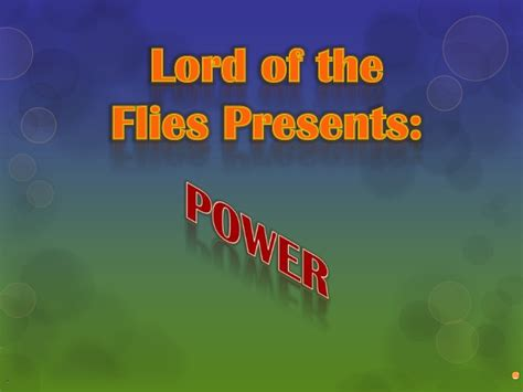 lord of the flies themes slideshare lord of the flies presentation