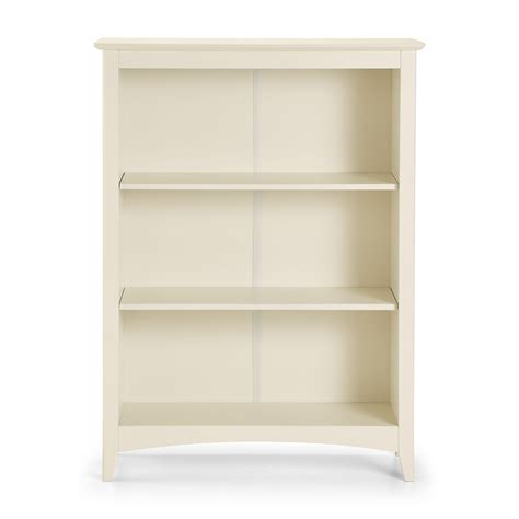 M Rida Stone White 2 Shelf Bookcase Jb119 White 2 Shelf Bookcase