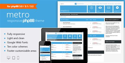 moodle themes for sale metro a responsive theme for phpbb3 by pixelgoose