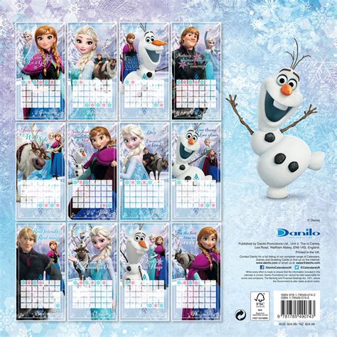 printable calendar 2018 disney disney frozen calendars 2018 on europosters