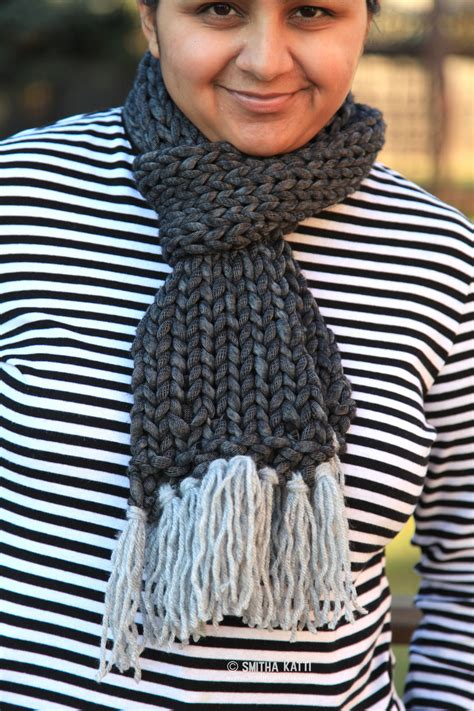 knitting pattern quick scarf quick knit scarf with free pattern smiling colors
