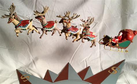 Train Christmas Ornaments - polar express flying reindeer o gauge railroading on line forum