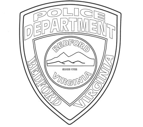 police badges coloring pages az coloring pages