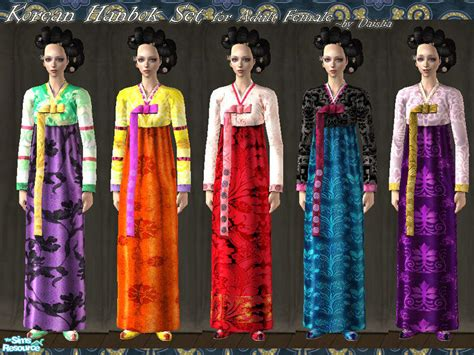 954 Brukat Korean Set Cloth daislia s korean hanbok set