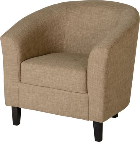 armchairs belfast tempo tub chair sand fabric buy online at qd stores