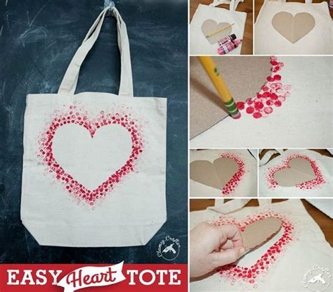 valentines day bags valentines day bag diy