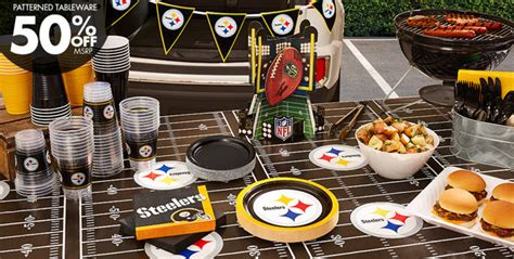 steelers decorations nfl pittsburgh steelers supplies city canada