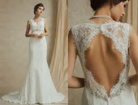 Romantic lace bridal gowns buy prom dresses online uk sale
