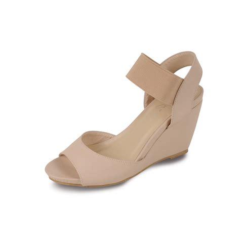Wedges Js42 By Jenn Shoes jlc545 beige peep toe wedge sandals