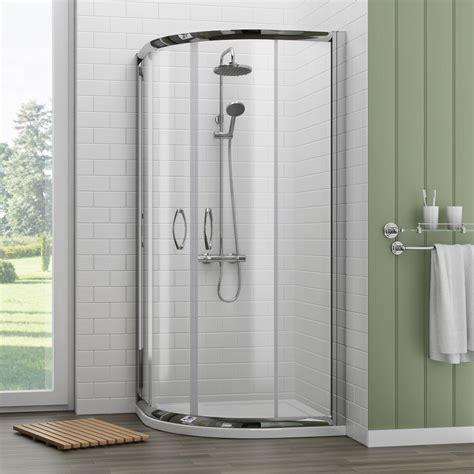 A 700 Shower newark 700 x 700mm small quadrant shower enclosure