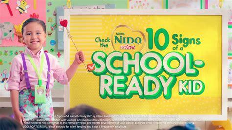 Nido Fortigrow 10 signs of a school ready kid nido fortigrow nestl 233