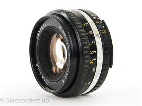 Nikon 50mm F1 8 Ais nikon 50mm f1 8 series e ais serienr 2857411