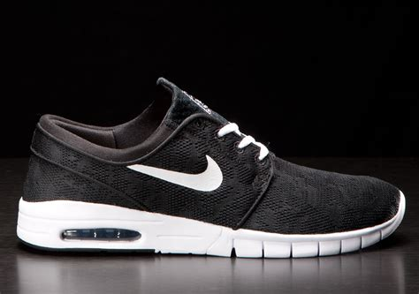 Max Black nike sb stefan janoski max black white sneakers addict
