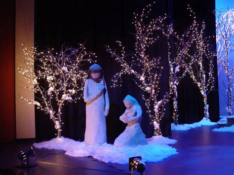 christmas stage decoration ideas www imgkid com the