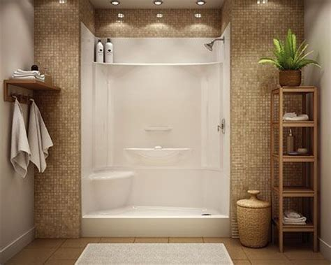 Low Maintenance Shower Tile by Low Maintenance Shower Stall For The Home