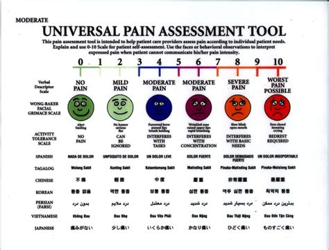 the pain scale by kelli klingbeil