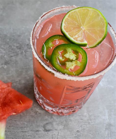 watermelon margarita recipe spicy watermelon margarita recipe vinepair
