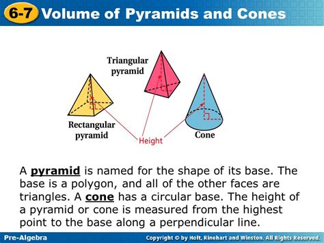 Its All About The Volume by Volume Of Pyramids And Cones Ppt
