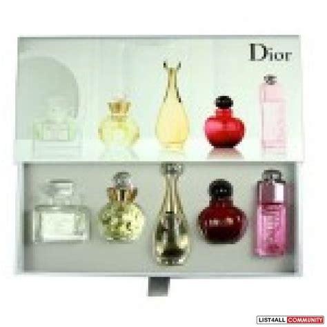 Parfum Miniature Chanel Gift Set Miniatur Bukan Parfum Diskon christian mini perfume set jkfrocks list4all