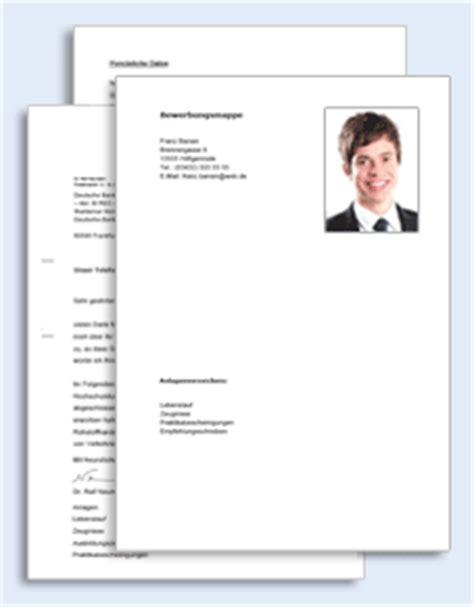 Lebenslauf Ausbildung Bankkaufmann Bewerbungs Paket Ausbildungsplatz Bankkaufleute Muster Zum