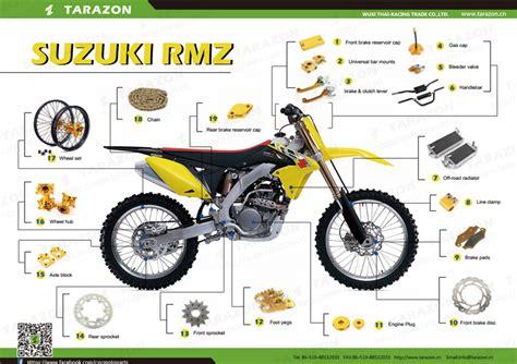 Cheap Suzuki Motorcycle Parts Cheap Aluminum Motorcycle Spare Parts For Suzuki Dirt Bike