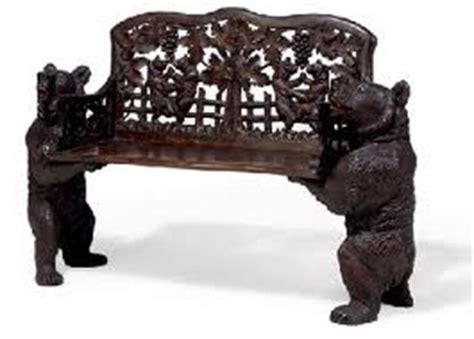black forest bear bench the history of black forest carvings antique hq