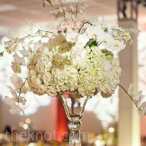 Tall White Orchid Centerpieces White Orchid Centerpieces