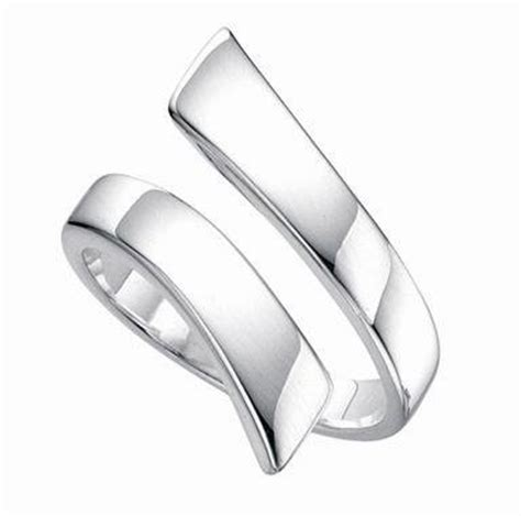 adjustable thumb ring solid silver sturdy can be set large