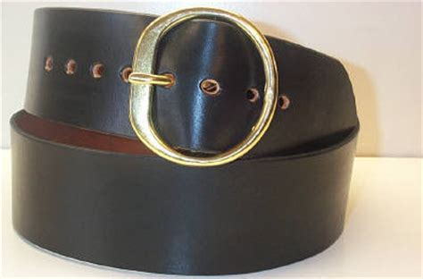 3 inches wide santa belt with our solid brass buckle