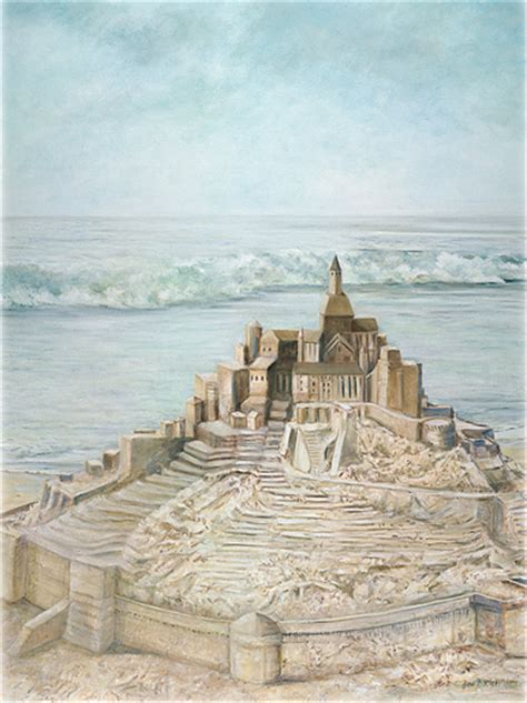 sand castle painting www imgkid the image kid has it