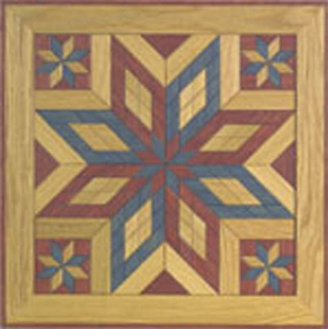 painted wooden quilt square  woodcraft pattern