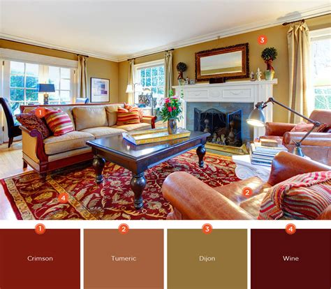 warm living room colors 20 inviting living room color schemes ideas and