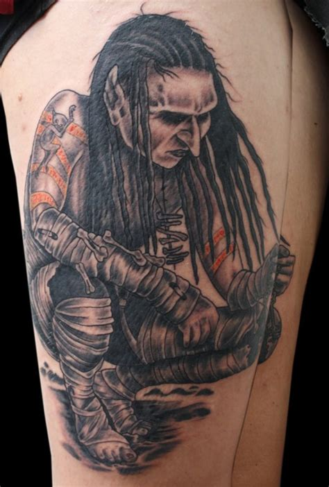 mortiis heavy metal tattoo