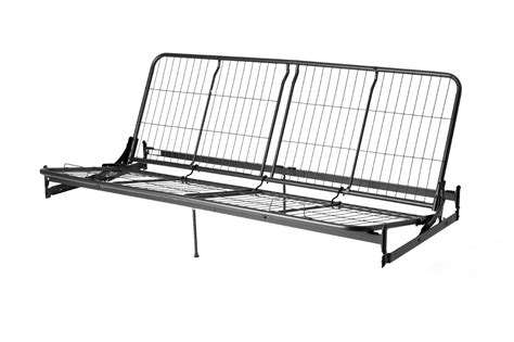 metal futon frames dorel metal futon frame arms mattress sold separately