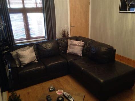 natuzzi l shaped sofa natuzzi leather l shaped sofa for sale in greystones