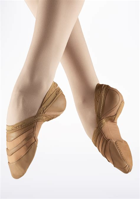 capezio slippers capezio freeform split sole shoe move dancewear 174