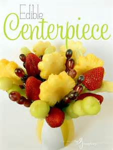 edible fruit centerpieces my 3 monsters mothers day gift ideas edible centerpiece