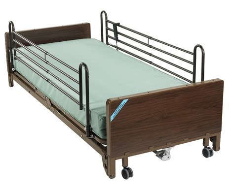 full bed rails drive medical 15235bv pkg full electric low bed full