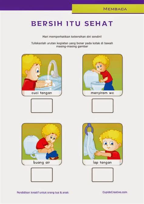 Buku Menjaga Diri Sendiri belajar membaca untuk sd kelas 1 belajar kebersihan