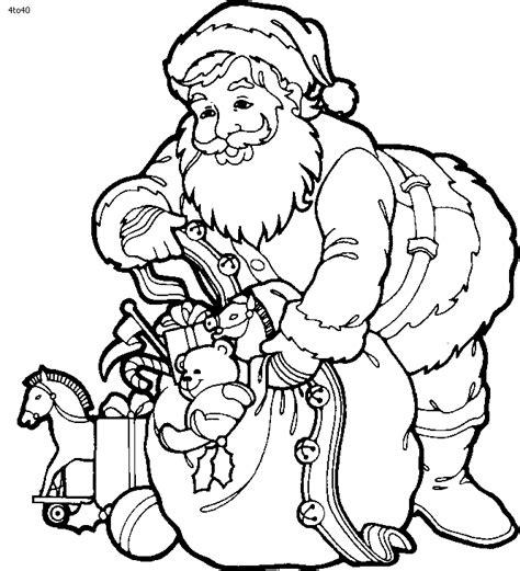 santa hockey coloring pages santa claus outline cliparts co